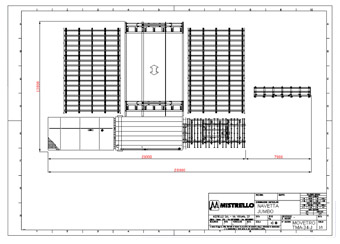 automatic shuttle storage systems for glass sheets